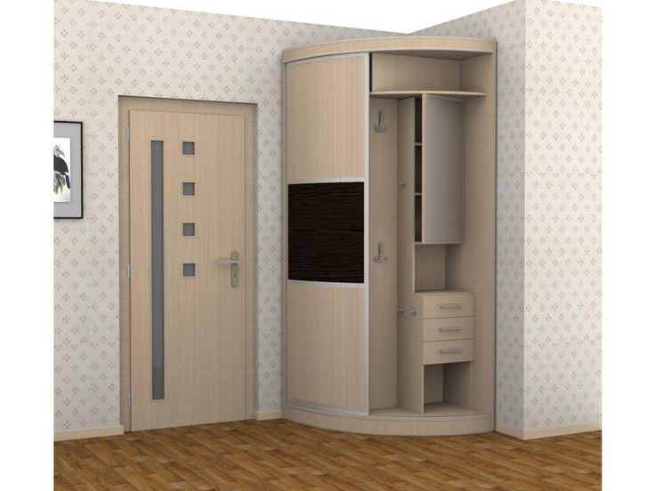 Угловые прихожие для маленьких коридоров. Много фото (с ...