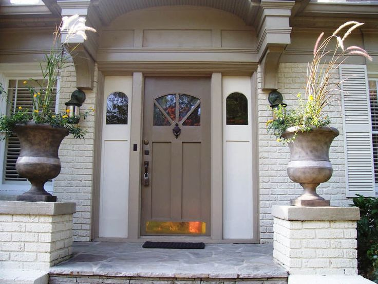 Painting Exterior Doors Ideas | Table And Chair And Door