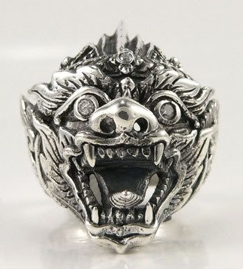 Hanuman Tattoo Ring