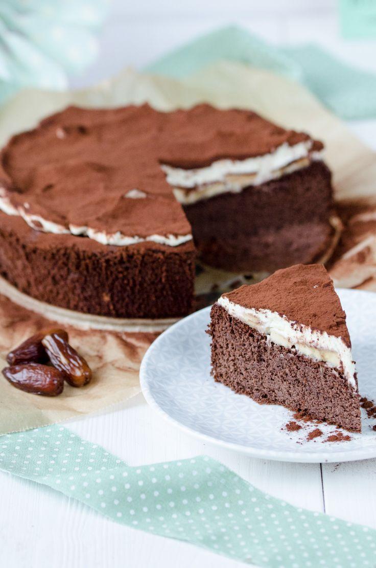 Gesunde Bananen Schokotorte Ohne Zucker Ohne Mehl Baking Barbarine Kuchen Rezepte Ohne Zucker Kuchen Ohne Zucker Und Mehl Backen Ohne Zucker