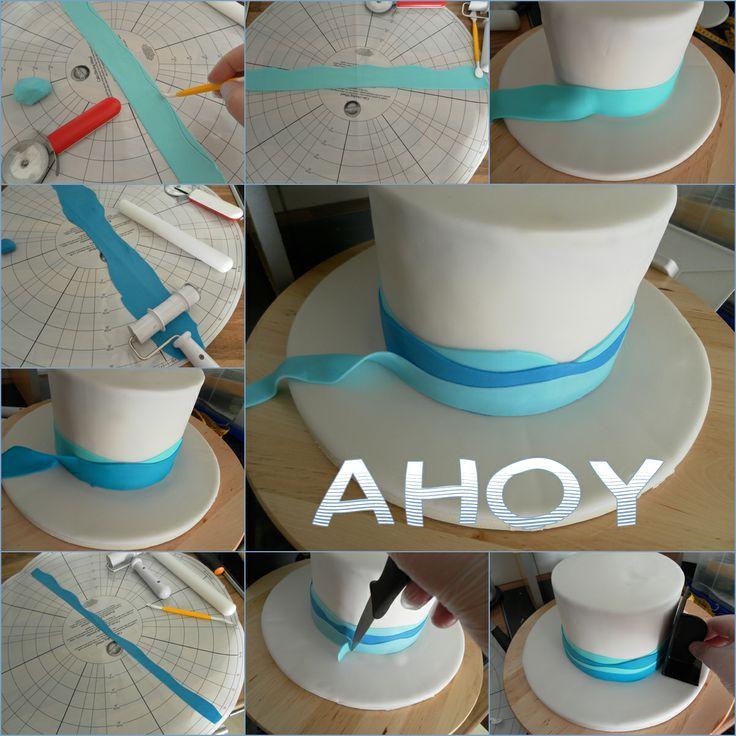 Cooking & Fun by Valentina: How to make a baby cake with sailing boat/ Anleitung: Baby Torte mit Segelboote – schnell und einfach nachzumachen!/Упътване:Бебешка торта с корабчета - много лесна и бърза за правене