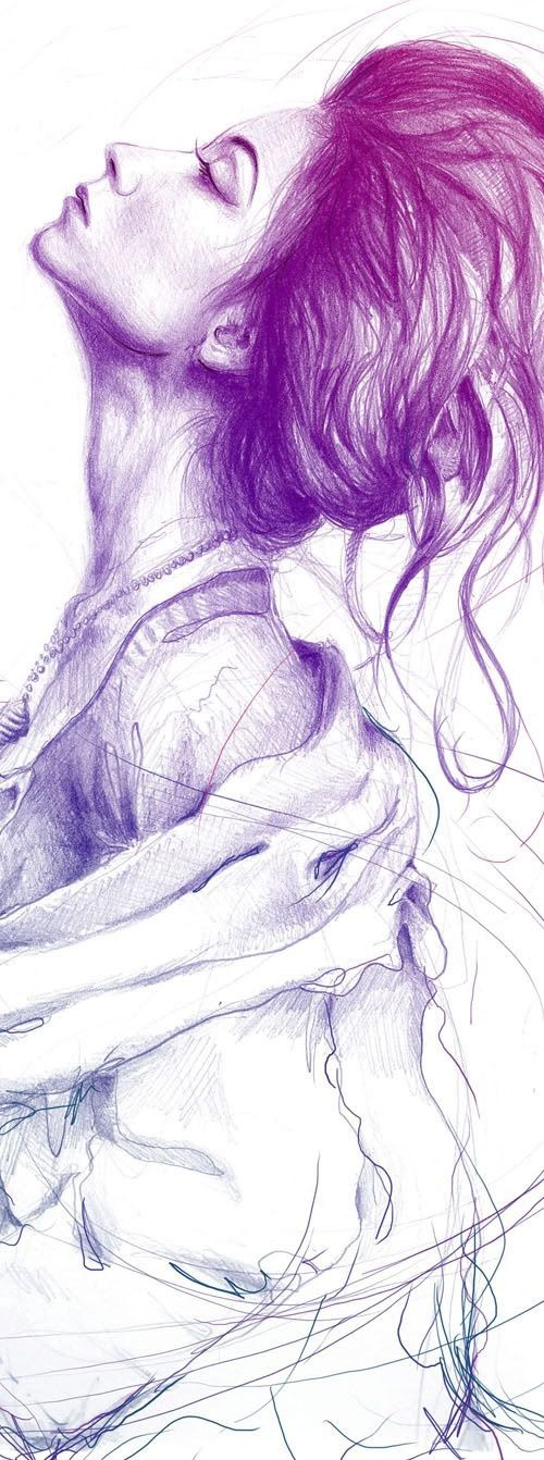 ¡Una ilustración hermosa!   #Fashion #Hair