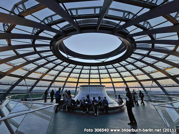 DachkonstruktionReichstagsgebäude, Platz der Republik 1, 10557 Berlin - Tiergarten (2011)