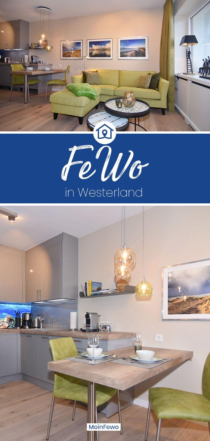 Ferienwohnung Steinmannstrasse 8 Whg 24 Ailon 6 Og In Westerland Mit Meerblick In 2020 Ferienwohnung Wohnung Westerland