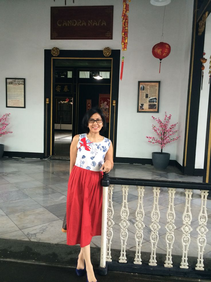 Cheogsam-inspired batik by Batik Queen