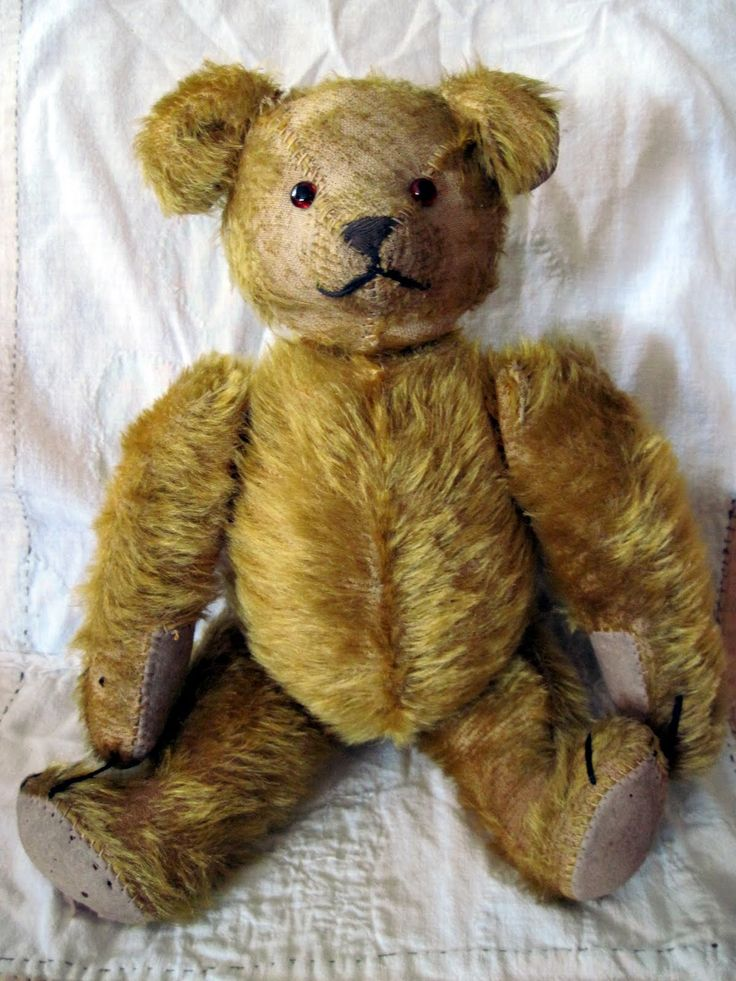 1000 Images About Old Fashioned Teddy Bears On Pinterest
