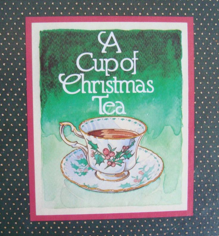 A Cup of Christmas Tea - Illustrated Poem Book by Tom Hegg by OfftheShelf2015 on Etsy