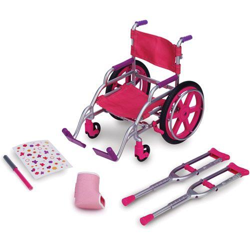 My Life As Wheelchair Set: Dolls & Dollhouses : Walmart.com