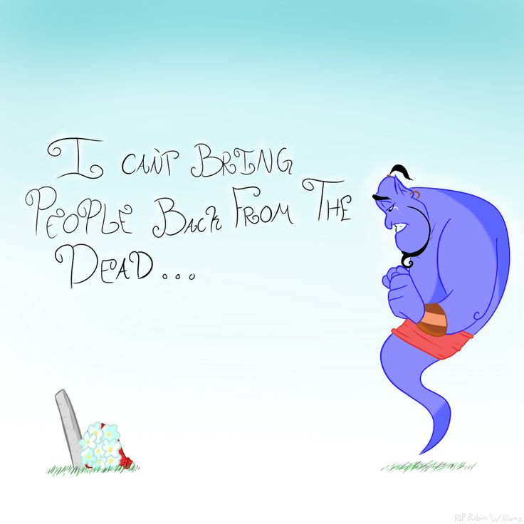 Robin Williams / Aladdin ~~ May you find peace, sir. :: [ RIP Robin Williams by 8VIII on deviantART ]