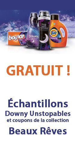 Échantillons gratuits Downy Unstopables.  http://rienquedugratuit.ca/echantillon-gratuit/downy-unstopables/