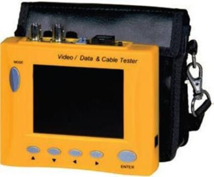 Northern LCD3TM 3.5'' Color Test Monitor with BNC Inputs, Cable Tester, Rechargeable Battery, and Audio