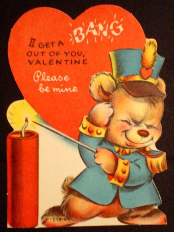 74 best Vintage Valentines Day Cards images on Pinterest  Cards