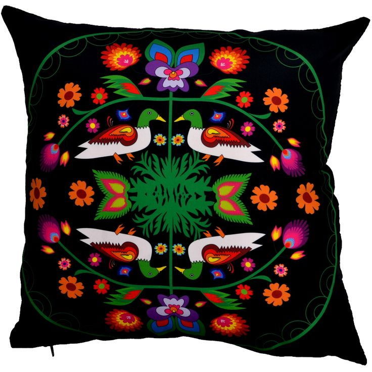 Designer decorative Folk pillow № gd413