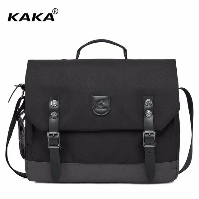 Special offer 2017 New KAKA Brand Design Korean Style Men Fashion Handbag Briefcase for 15.6 Laptop Shoulder Bag Classic Business Bags Black just only $26.89 with free shipping worldwide  #crossbodybagsformen Plese click on picture to see our special price for you