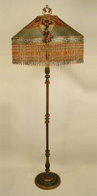 422 Best Lamp Shades Images On Pinterest Victorian Lamps