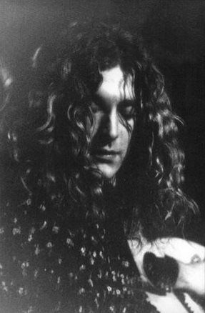 Robert Plant in the aptly named Percy Gee Building - Leicester University Leicester, United Kingdom 25 November 1971