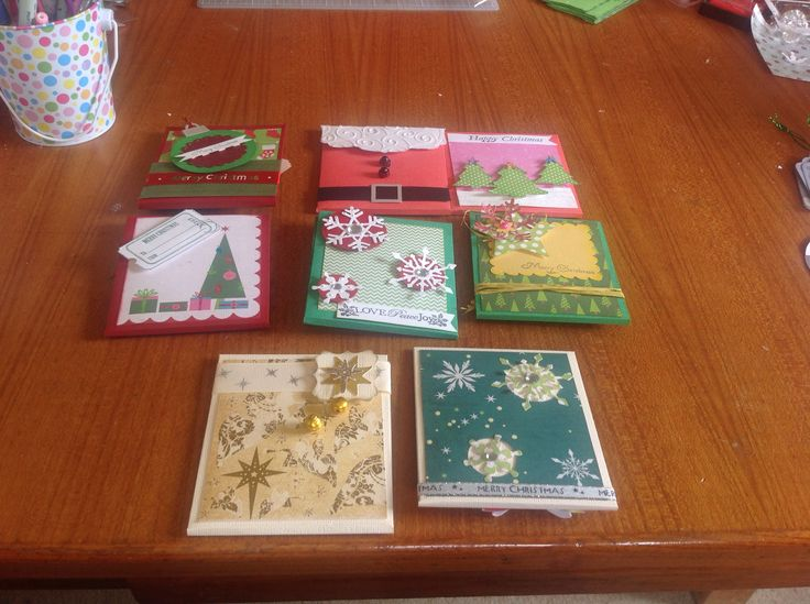 Gift card holders by 2crafty chicks