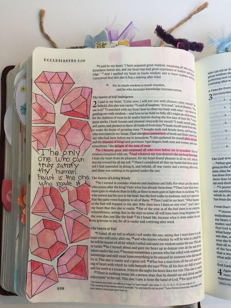 Ecclesiastes 2:7 #bibleartjournaling