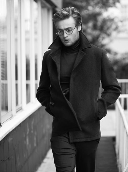 Douglas Booth by Laurence Ellis for Mr Porter