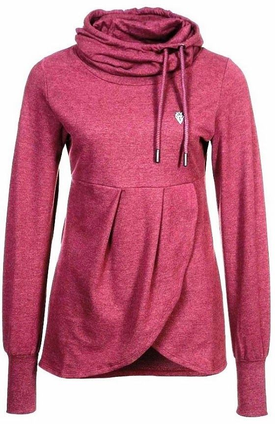 MODE THE WORLD: Adorable Long Sleeves Neck Layer Hoodie, #Yoga Gear, #Yoga Clothies