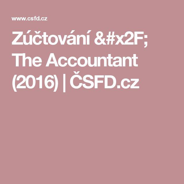 Zúčtování / The Accountant (2016)   ČSFD.cz