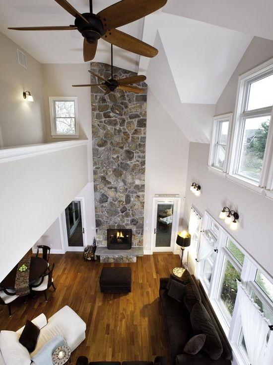 16 große Wohnzimmer Design und Dekor Ideen mit Samt Möbel   neuedekorationsideen   High ceiling ...