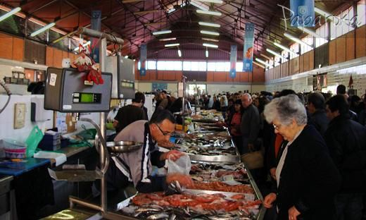 Mercado de Olhao, Algarve, Portugal