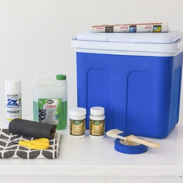 Be the envy at the next pool party making your old plastic cooler box into something one-of-a-kind! Step by step instructions on the website. Link in bio. #BuildersSummerDIY  #summer #outdoors #DIYgarden #summerDIY #sumerfun #funinthesun #beachtime #familyfun  https://goo.gl/AnXRno