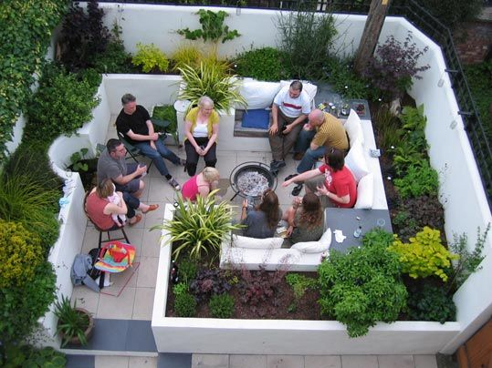 143 Best Images About Small Garden & Courtyard Ideas On Pinterest