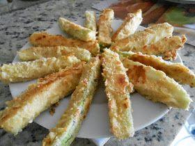 Sergio Pankowski Gastronomia: Palitos de abobrinha empanadas no forno