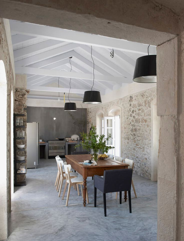 Dining Room | Villa Kalos | Guest House in Ithica, Greece | est living