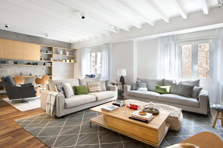 Una casa urban chic para pasar las vacaciones perfectas #hogarhabitissimo #salon
