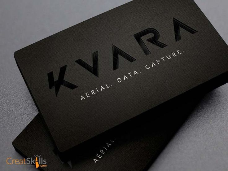 40 best business card inspirations images on pinterest business have a look at this awesome business card it was designed for kvara and has the logo type cut out very impressive and minimal design the card was design reheart Image collections