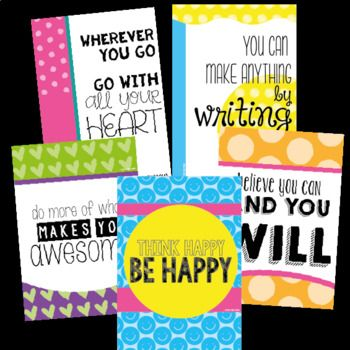 Free - Classroom Motivational Posters to Inspire and Decorate