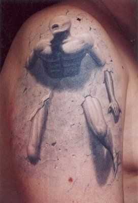 3D Tattoo Designs Picture Gallery - 3d tattoos #3dtattoos #3dtattoodesigns #3dtattooideas #3dtattoodesignideas