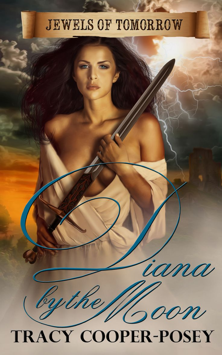 Diana by the Moon.   Historical Romantic Suspense. Fourth edition cover  http://tracycooperposey.com/books/diana-by-the-moon/