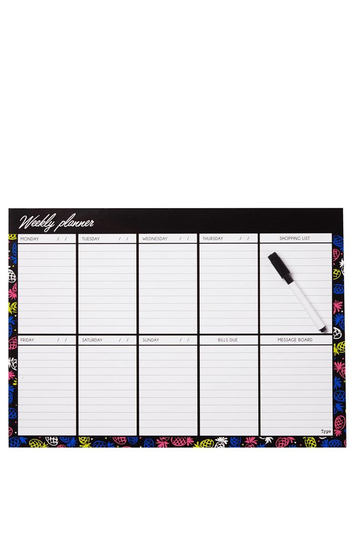 Our A3 Magnetic Planner will help keep you and your busy schedule organised! Keep it on your fridge so you can glance at it any time.  Size: 29cm 42cm Material: Magnet Features: Includes whiteboard marker with lid and eraser