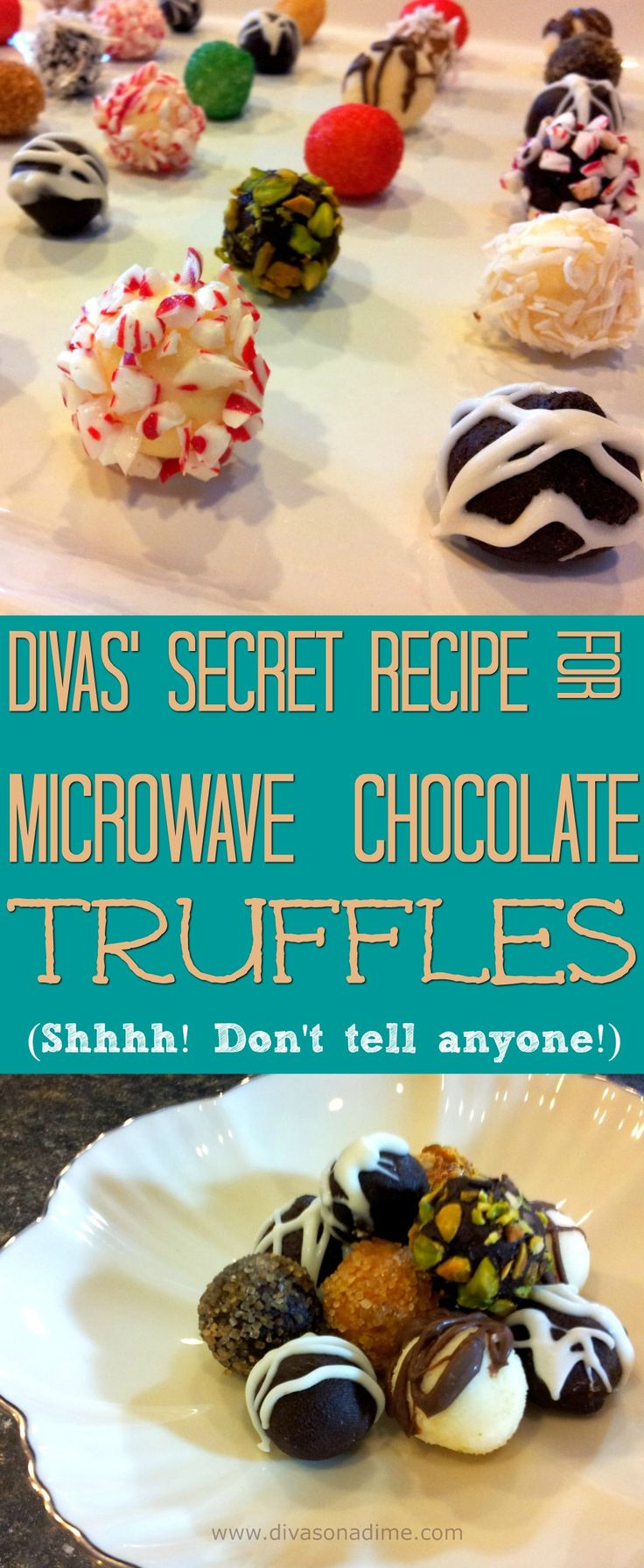 Want to impress someone special? These microwave chocolate truffles are unbelievably easy and so delicious. Godiva just turned into Go Diva!