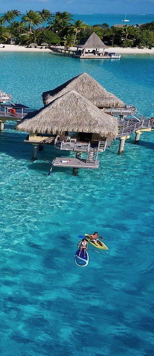 Emmy DE * Clear Blue Lagoon and Water Villas, Bora Bora