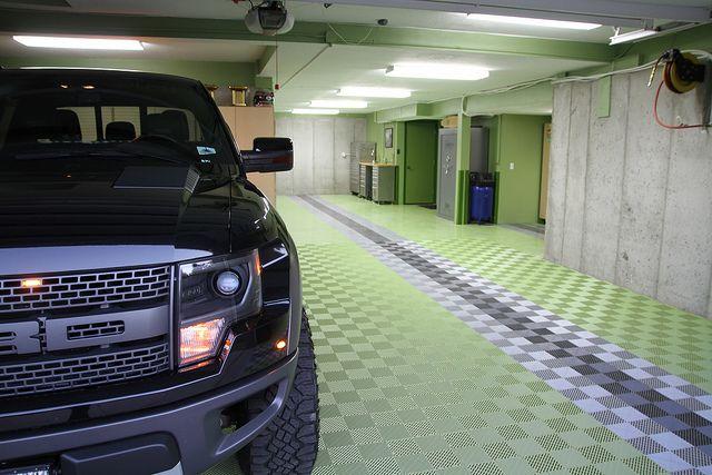 17 best images about garage flooring on pinterest floors for Cool garage floors