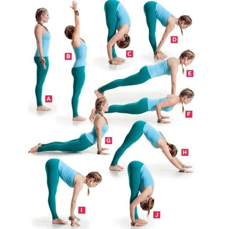Yoga sequence that burns lots of calories! Hold each position for 1 minute. Complete 3x's.
