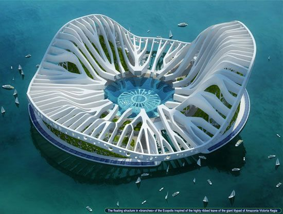 A floating city!