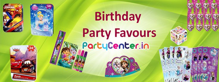 Buy Birthday Party Favours only at partycenter.in