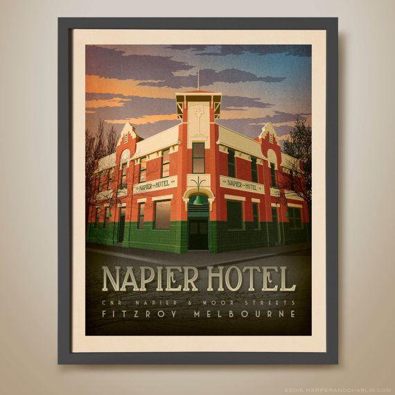 NAPIER+HOTEL+Fitzroy+Melbourne.+Melbourne+Pub.+Famous+Pub.
