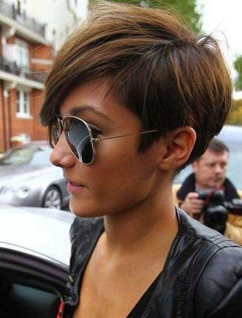 Frankie Sandford Haircut Back View