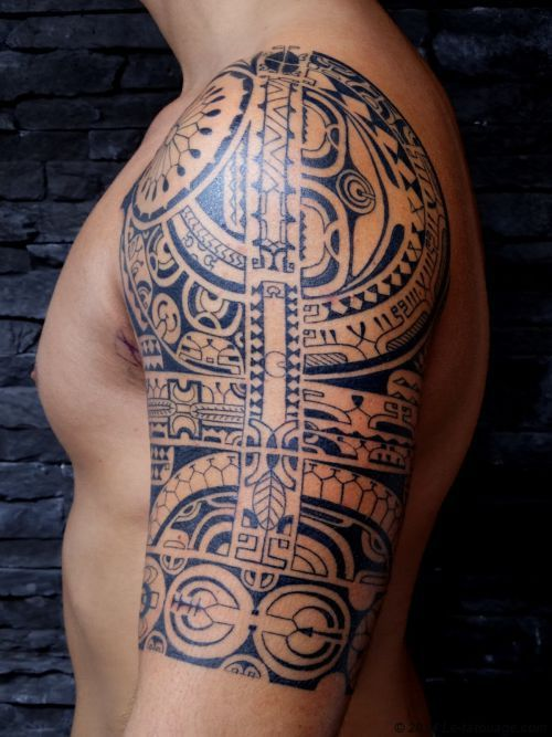 Polynesian tiki tattoo google search tattoo for Polynesian tiki tattoo