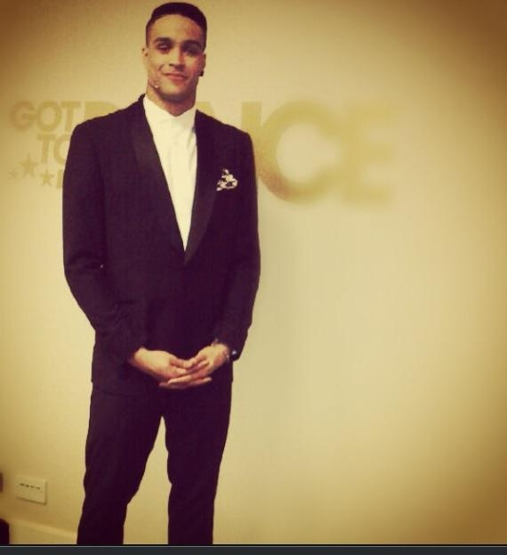Ashley Banjo wearing our tuxedo for the last night's Got to Dance final. Get the look.  #celebrity #diversity #gottodance #judge