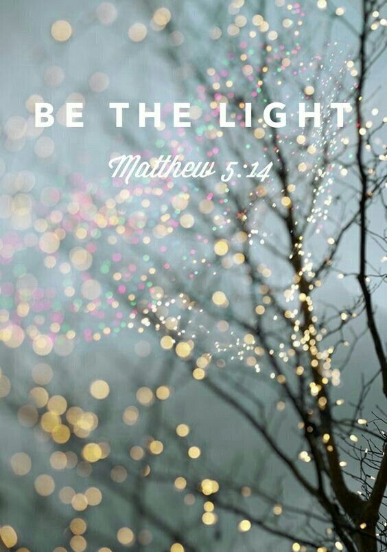 The darker the darkness The brighter the Light We are a light in the darkness as we reflect Jesus Matthew 5:14-16