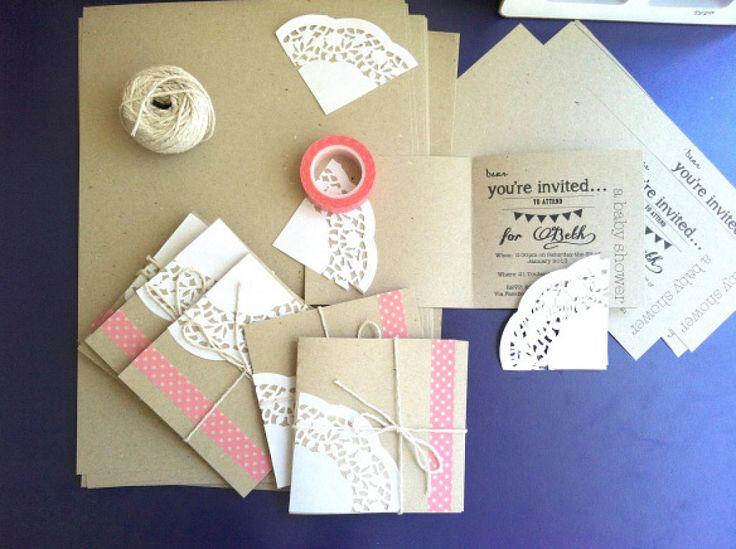 Cómo hacer invitaciones de boda caseras | RevistaFeminity.com | La ...