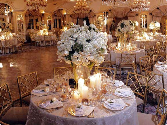 Gift Ideas For 50th Wedding Anniversary Party: 50th Anniversary Centerpieces